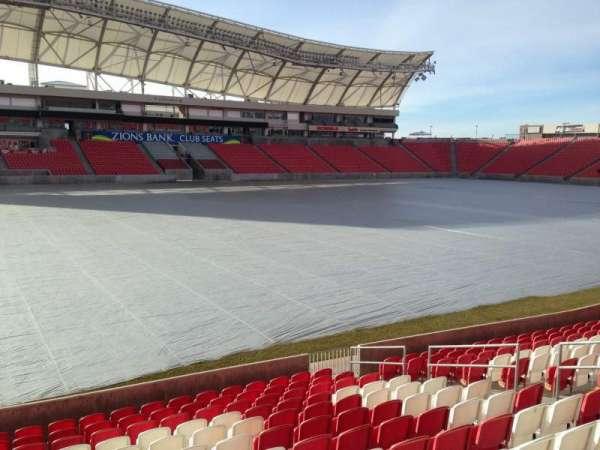 Rio Tinto Stadium, sección: 4, fila: p, asiento: 15