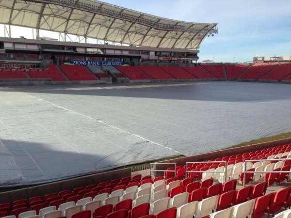 Rio Tinto Stadium, sección: 5, fila: p, asiento: 14