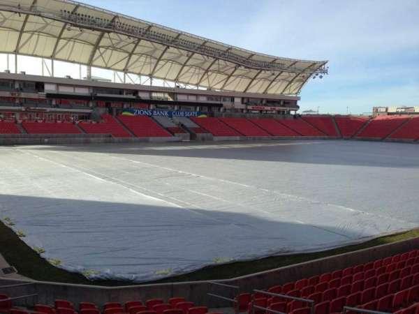 Rio Tinto Stadium, sección: 6, fila: p, asiento: 10
