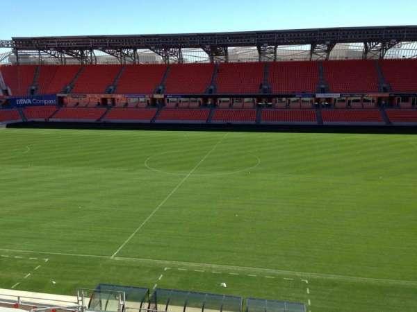 BBVA Stadium, sección: 206A, fila: D, asiento: 10