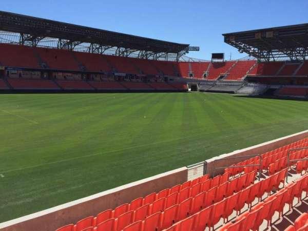 BBVA Stadium, sección: 109, fila: F, asiento: 15
