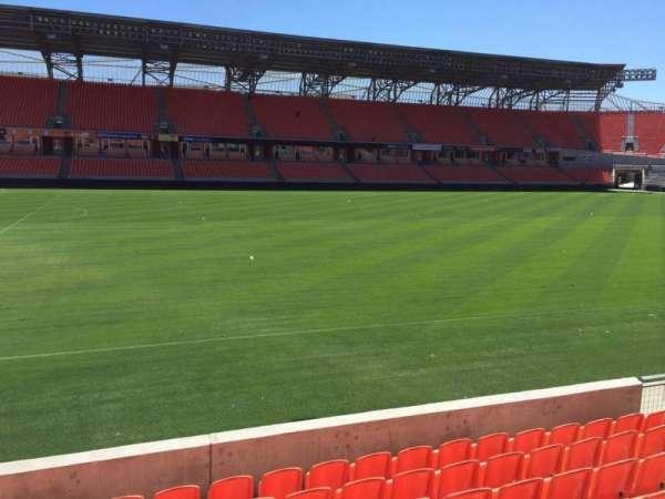 BBVA Stadium, sección: 108, fila: F, asiento: 15