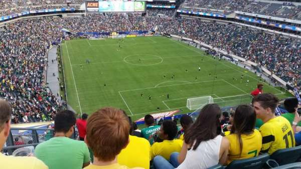 Lincoln Financial Field, sección: 233, fila: 14, asiento: 12