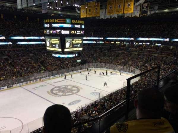 TD Garden, sección: BAL 304, fila: 2, asiento: 4