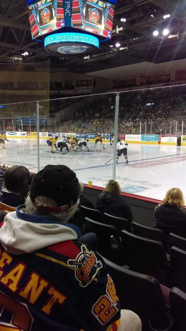 Erie Insurance Arena, sección: 121, fila: E, asiento: 5