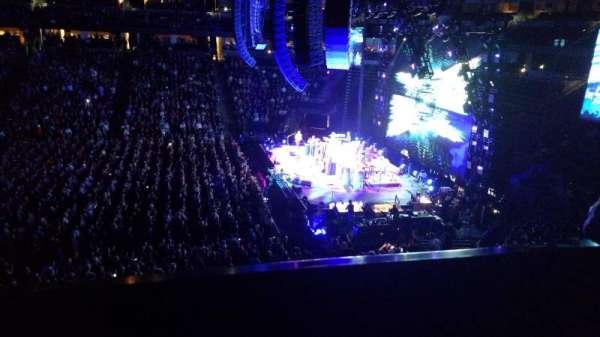 Pepsi Center, sección: 258, fila: 1, asiento: 9