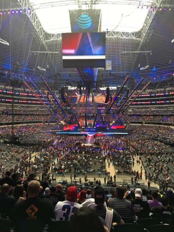 AT&T Stadium, sección: 222, fila: 14, asiento: 8,9,10