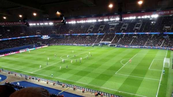Parc des Princes, sección: 407, fila: 21, asiento: 38