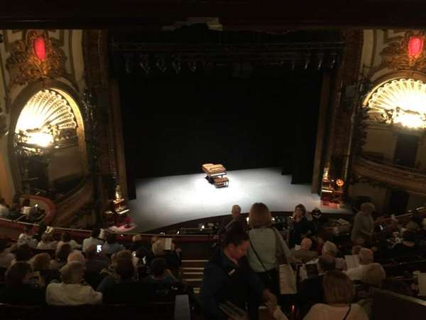 Palace Theatre (Broadway), sección: Mezzanine, fila: J, asiento: 111