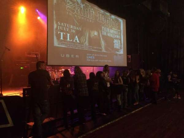 The TLA, sección: Lower bar
