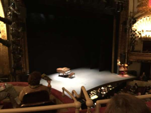 Palace Theatre (Broadway), sección: Mezzanine, fila: A, asiento: 23
