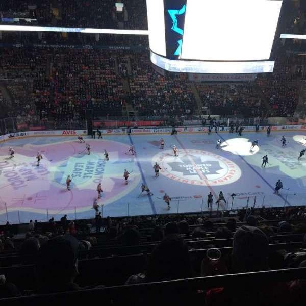 Scotiabank Arena, sección: 310, fila: 9, asiento: 15