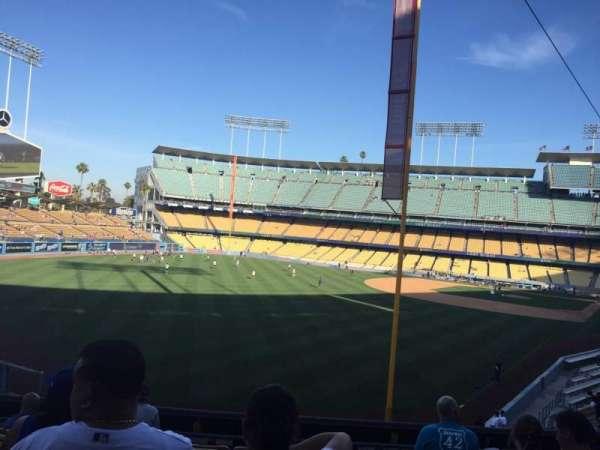 Dodger Stadium, sección: 165LG, fila: H, asiento: 1