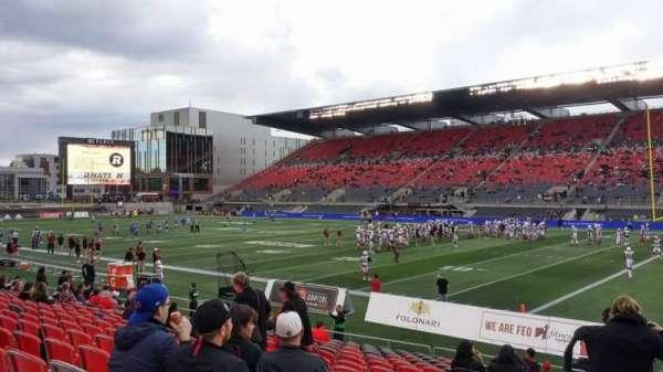 TD Place Stadium, sección: M, fila: 17, asiento: 20