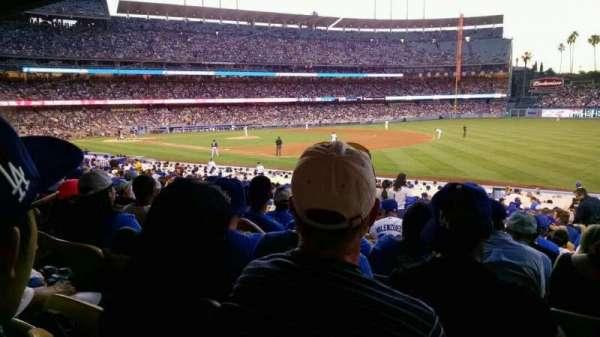 Dodger Stadium, sección: 38fd, fila: v, asiento: 7