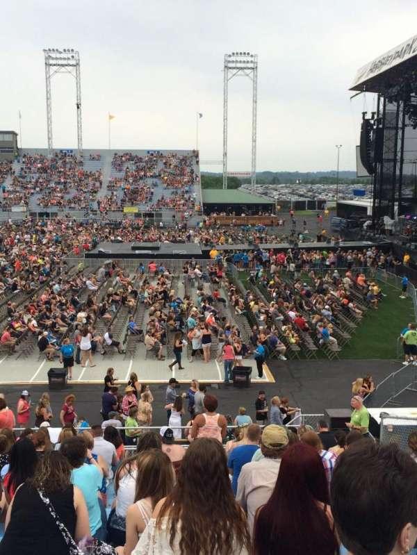 Hershey Park Stadium, sección: 25, fila: M, asiento: 5