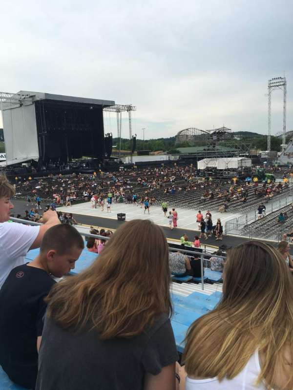 Hershey Park Stadium, sección: 6, fila: K, asiento: 24