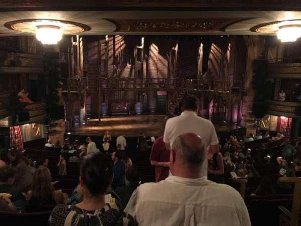 Richard Rodgers Theatre, sección: Orch, fila: S, asiento: 1