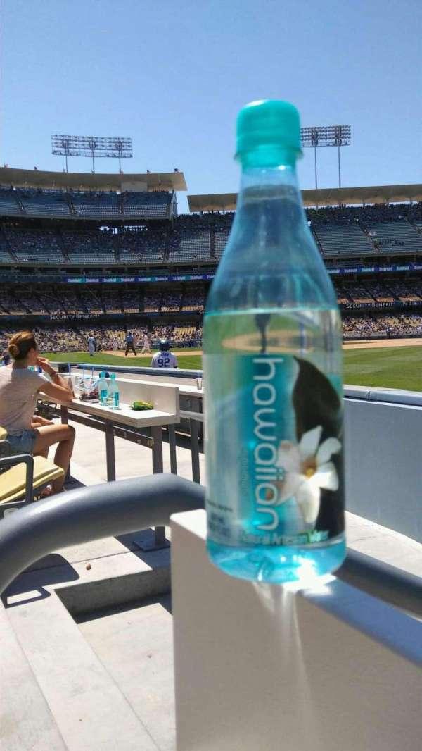 Dodger Stadium, sección: 44FD, fila: AA, asiento: 1