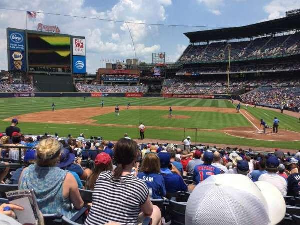 Turner Field, sección: 108R, fila: 23, asiento: 6