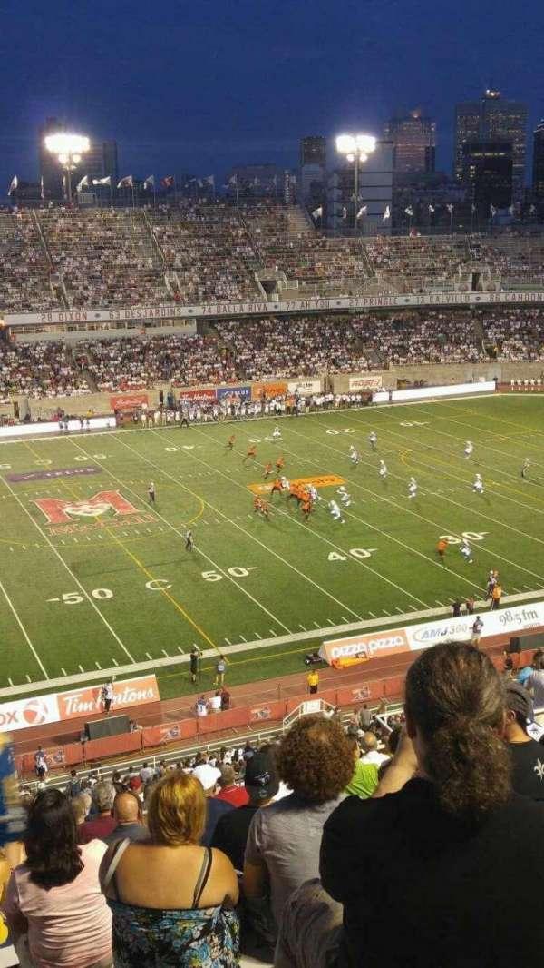 Percival Molson Memorial Stadium, sección: H2, fila: 15, asiento: 20
