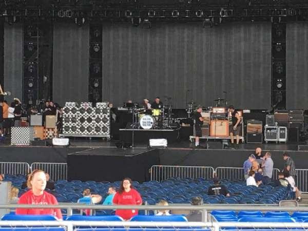 MidFlorida Credit Union Amphitheatre, sección: 9, fila: K, asiento: 58