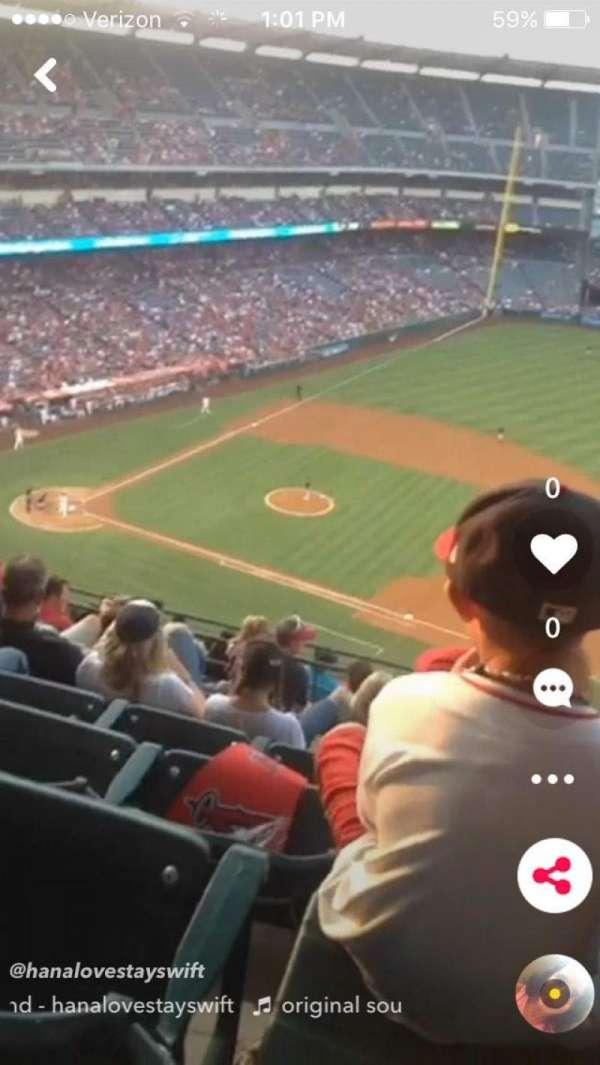 Angel Stadium, sección: V529, fila: 15, asiento: 16