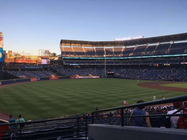 Turner Field, sección: 228, fila: 4, asiento: 8