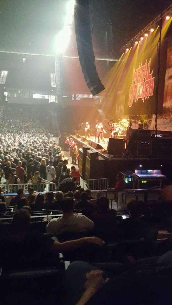 Now Arena, sección: 116, fila: 10, asiento: 15