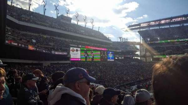 Lincoln Financial Field, sección: 117, fila: 29, asiento: 18