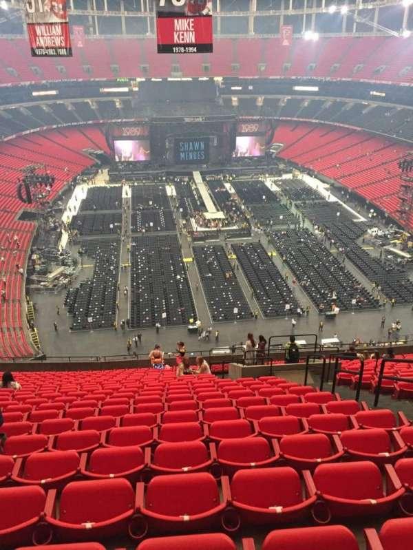 Georgia Dome, sección: 310, fila: 24