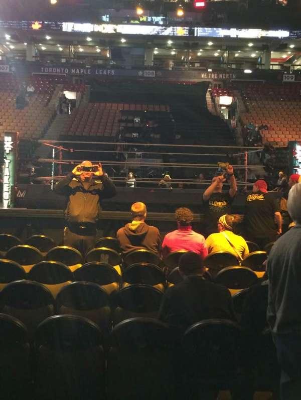 Scotiabank Arena, sección: 119, fila: 2, asiento: 13