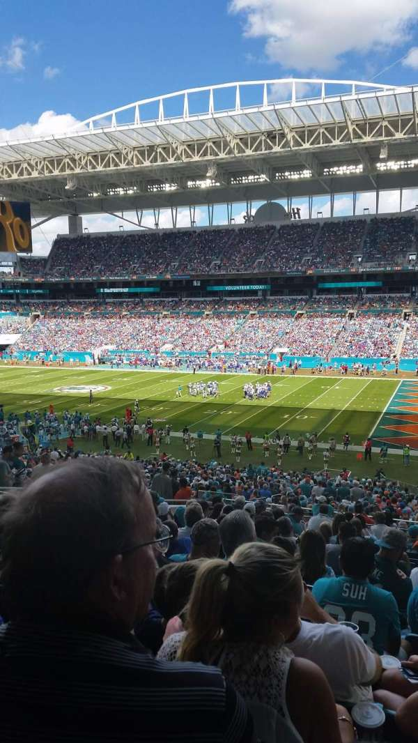 Hard Rock Stadium, sección: 242