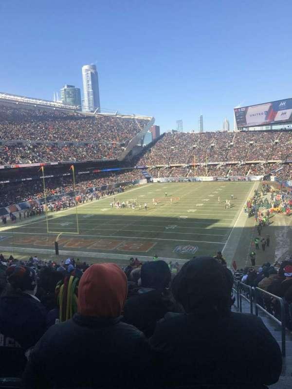 Soldier Field, sección: 220, fila: 19, asiento: 24