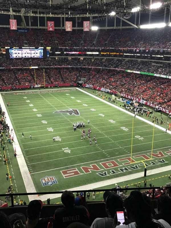 Georgia Dome, sección: 311, fila: 5, asiento: 2
