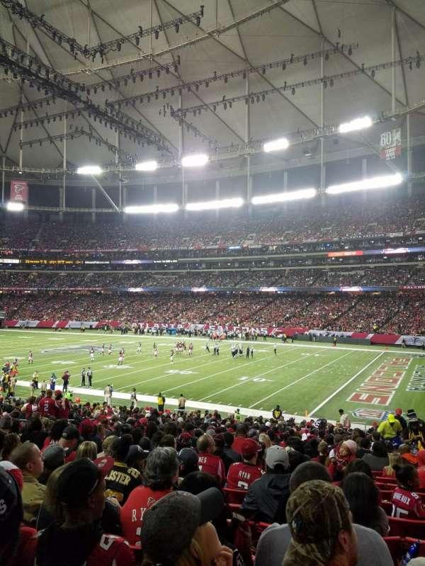 Georgia Dome, sección: 111, fila: 29, asiento: 15