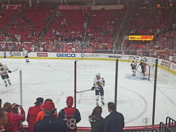 PNC Arena, sección: 101, fila: H, asiento: 2,3,4,5