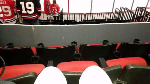 PNC Arena, sección: 101, fila: H, asiento: 4