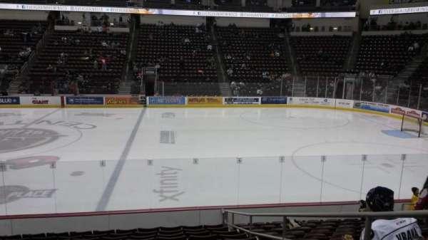 Giant Center, sección: 108c, fila: L, asiento: 3