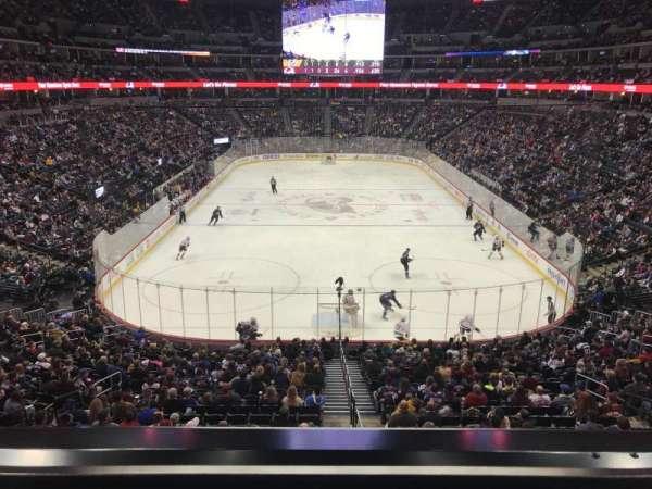 Pepsi Center, sección: 246, fila: 1, asiento: 9