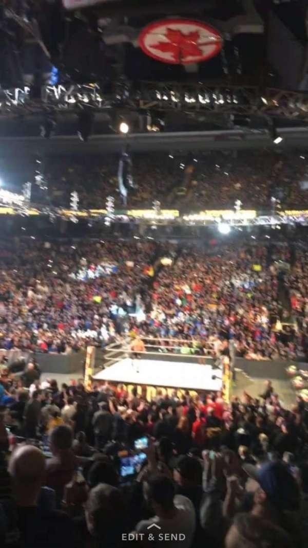 Scotiabank Arena, sección: 108, fila: 12