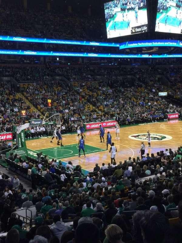 TD Garden, sección: Loge 15W, fila: 15, asiento: 6