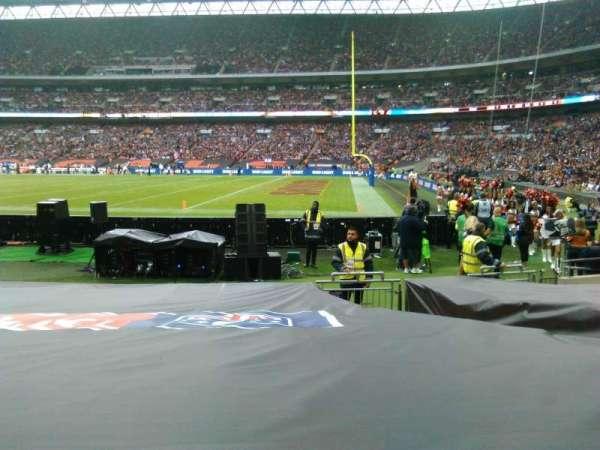 Wembley Stadium, sección: 140, fila: 11, asiento: 202