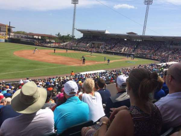 Joker Marchant Stadium, sección: 215, fila: L, asiento: 9