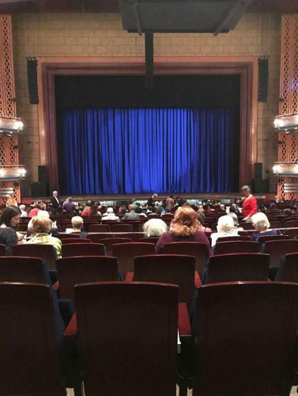 Walt Disney Theatre - Dr. Phillips Center, sección: Upper Orchestra C, fila: W, asiento: 114