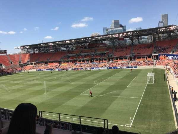 BBVA Stadium, sección: 103, fila: F, asiento: 27