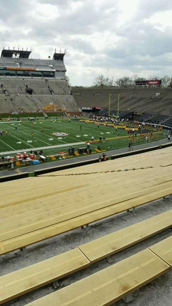 Faurot Field , sección: 120, fila: 42, asiento: 21