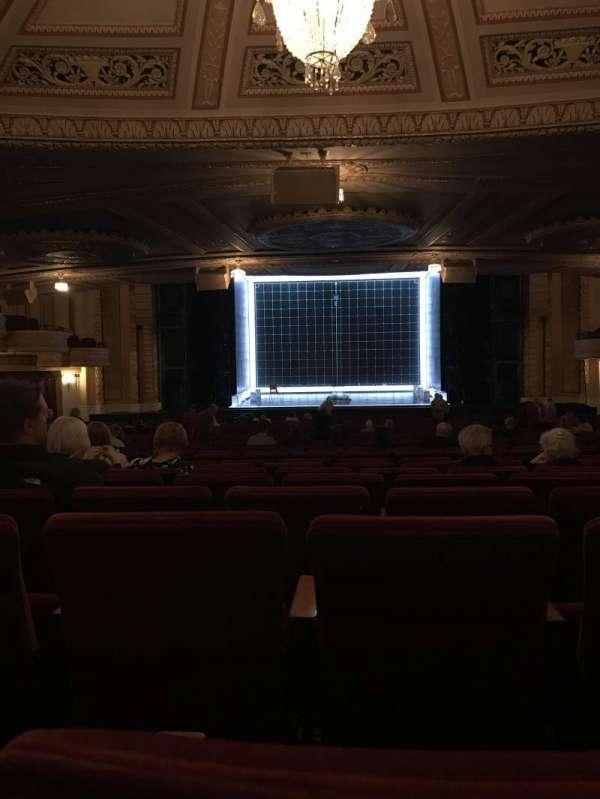 Connor Palace, sección: Orchestra C, fila: LL, asiento: 310