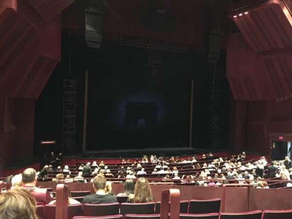 Segerstrom Hall, sección: Orchestra terrace, fila: H, asiento: 102