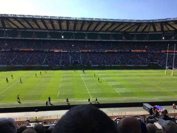 Twickenham Stadium, sección: M33, fila: 57, asiento: 263